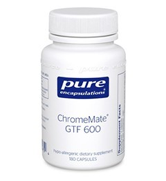 ChromeMate GTF 600 by Pure Encapsulations 180 Capsules