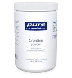 Creatine powder by Pure Encapsulations 250g