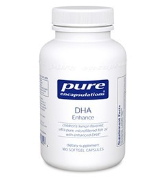 DHA Enhance by Pure Encapsulations 180 Soft Gels