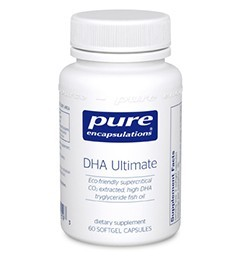 DHA Ultimate by Pure Encapsulations 120 Soft Gels