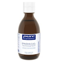 EPA/DHA-CoQ10 liquid (orange) 200ml by Pure Encapsulations