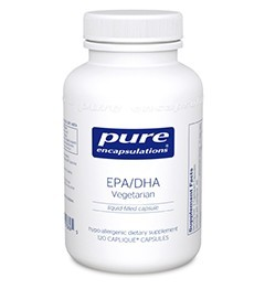 EPA/DHA Vegetarian by Pure Encapsulations 60 or 120 capsules