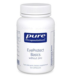 EyeProtect Basics w/o Zinc by Pure Encapsulations 60 Capsules