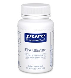 EPA Ultimate by Pure Encapsulations 120 Soft Gels