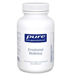Emotional Wellness by Pure Encapsulations 120 Capsules
