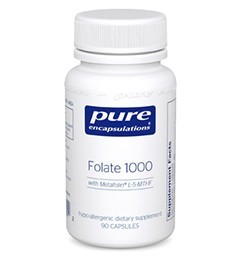 Folate 1000 by Pure Encapsulation 90 Capsules