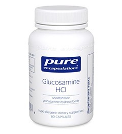 Glucosamine HCl (650mg) by Pure Encapsulations 180 Capsules
