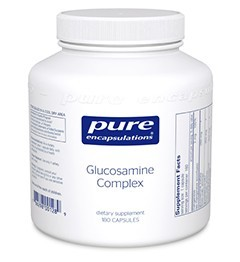 Glucosamine Complex by Pure Encapsulations 180 Capsules
