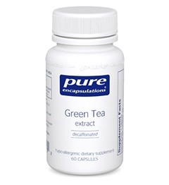 Green Tea extract (decaf) by Pure Encapsulations 120 Capsules