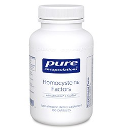 Homocysteine Factors by Pure Encapsulations 60 or 180 Capsules
