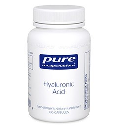 Hyaluronic Acid by Pure Encapsulations 180 Capsules