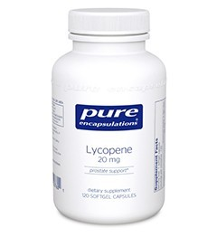 Lycopene 20mg by Pure Encapsulations 60 Soft Gels