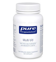 Multi t/d by Pure Encapsulations 60 Capsules