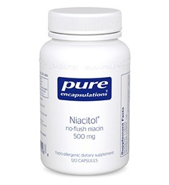 Niacitol 500mg by Pure Encapsulations 60 Capsules