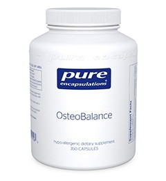 OsteoBalance by Pure Encapsulation350 Capsules