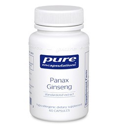 Panax Ginseng by Pure Encapsulations 120 Capsules
