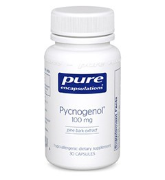 Pycnogenol 100mg by Pure Encapsulations 60 Capsules