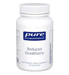 Reduced Glutathione by Pure Encapsulations 120 Capsules