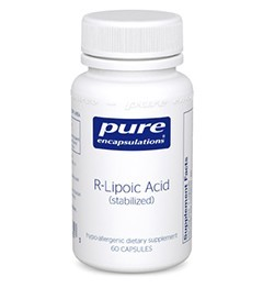 R-Lipoic Acid (stabilized) by Pure Encapsulations 60 Capsules