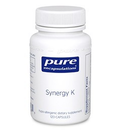 Synergy K by Pure Encapsulations 120 Capsules