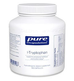 L-Tryptophan (500mg) by Pure Encapsulations 90 Capsules