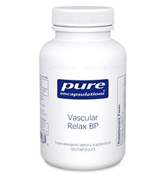 Vascular Relax BP by Pure Encapsulations 120 Capsules