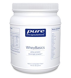WheyBasics by Pure Encapsulations 475.2g