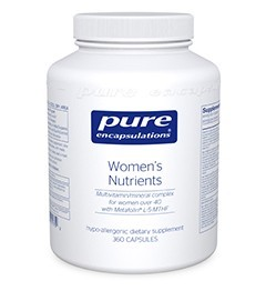 Women's Nutrients [40+] by Pure Encapsulations 180 Capsules