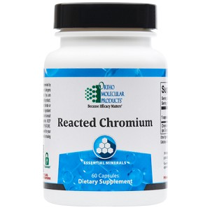 Reacted Chromium by Ortho Molecular Products 60 CT
